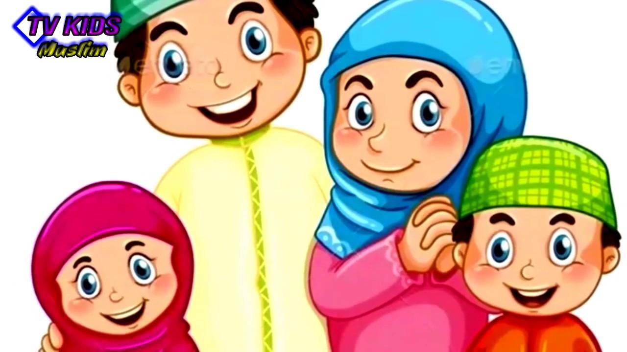 Gambar Animasi Anak Muslim Pergi Sholat Shalat Tepat Waktu Lagu Kartun Anak Islami Lucu Mendidik Youtube