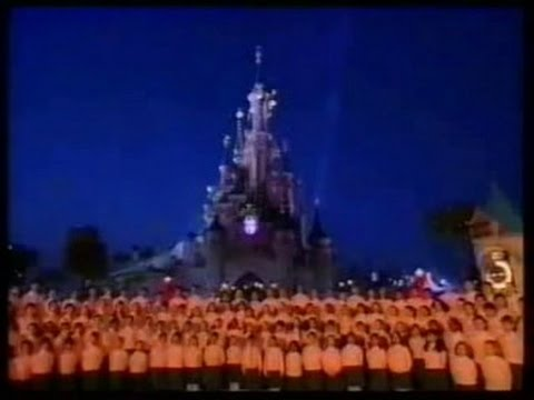 The Grand Opening Of Euro Disney ''Disneyland Paris'' (Disney 1992)