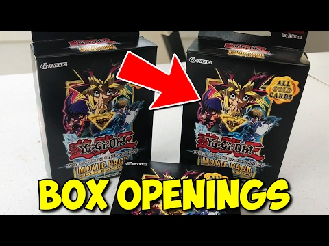 YuGiOh Dark Side of Dimensions Movie Pack GOLD Edition Pack Unboxing!