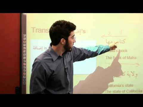 al-kitaab-3.1-|-the-possessive-construction