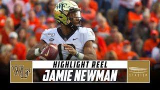 Wake Forest QB Jamie Newman Highlight Reel - 2019 Season | Stadium
