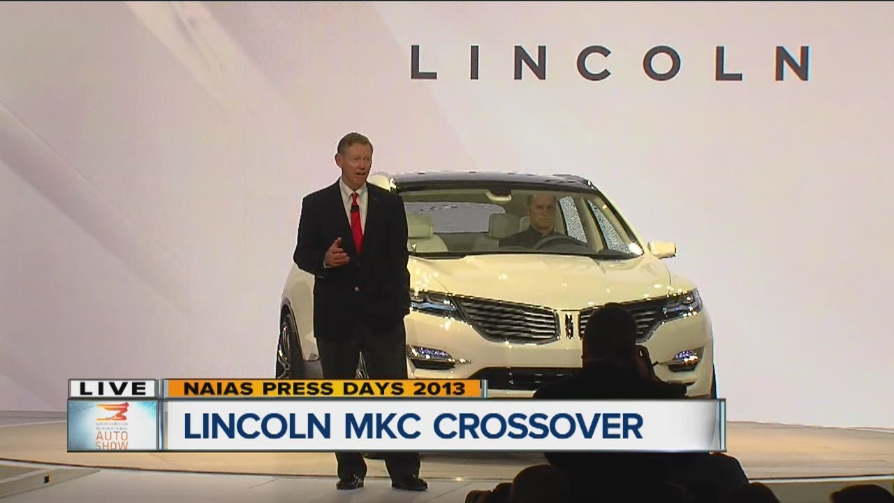 Ford unveils the Lincoln MKC Concept - YouTube