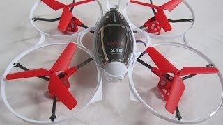 Syma X3 Quadcopter Maiden - Indoors And Out