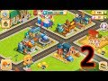 Cartoon City 2 Farm To Town Gameplay Walkthough Part 2 - Fun Building Games For Kids - Android, IOS