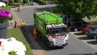Бельгия-Сбор мусора.