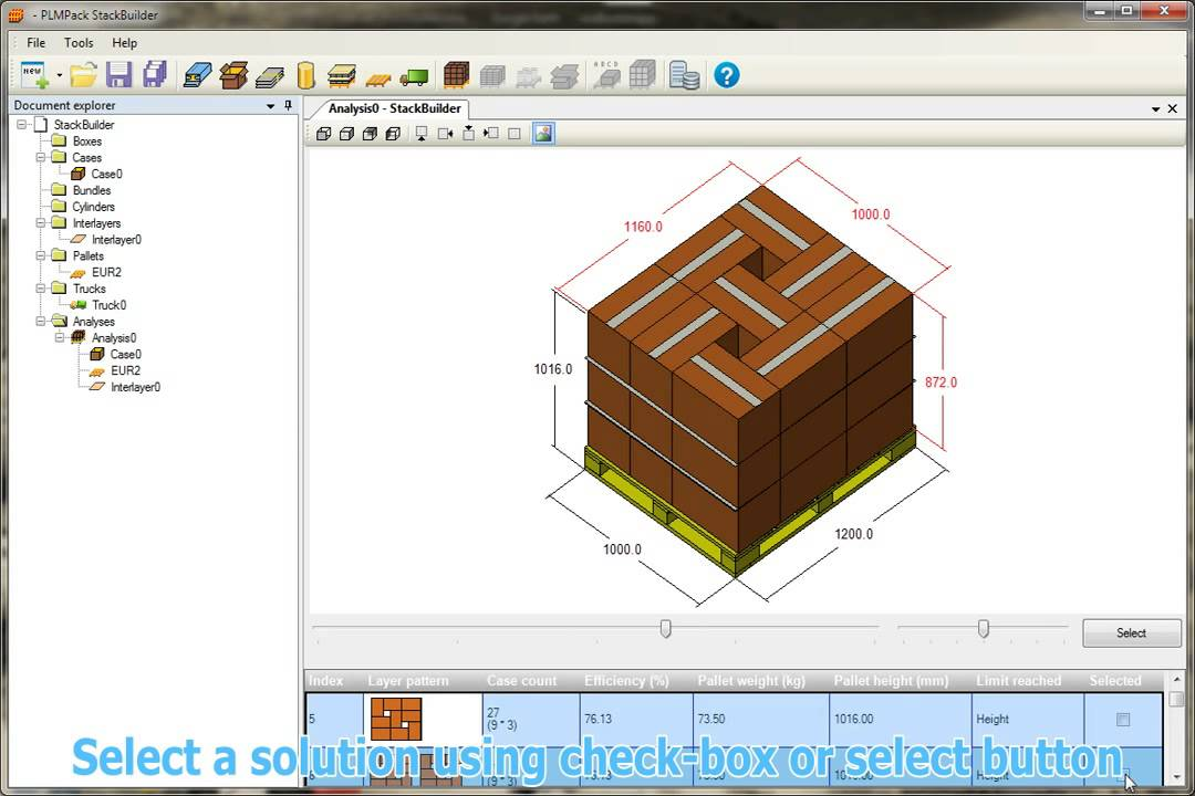 Stackbuilder Free Palletization Software Youtube