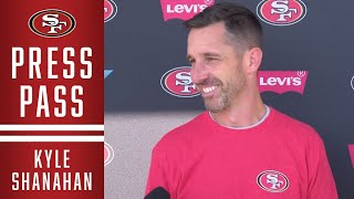 Kyle Shanahan Discusses Preparations for New Orleans Saints | 49ers
