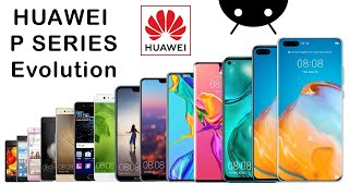 Evolution of Huawei P Series