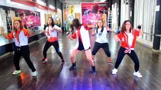 Zumba ' Todo Comienza En La Disco By Wisin  Ft Yandel & Daddy Yankee / Bintang Fitness ,Sangatta