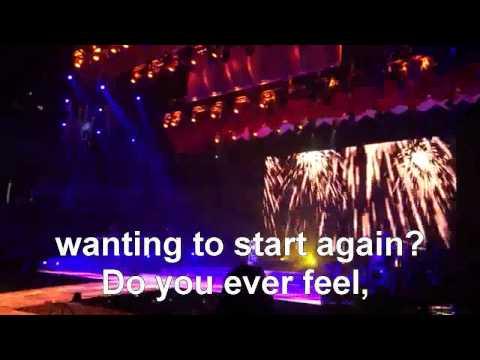 Born This Way + Fireworks- Glee Live 2011 Subtitulo Ingles Las Vegas HD - GLEE PERU mp3