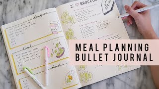 Bullet journal ideas | how to meal plan: today we are doing another setup video! i am going share with you plan using your bujo...