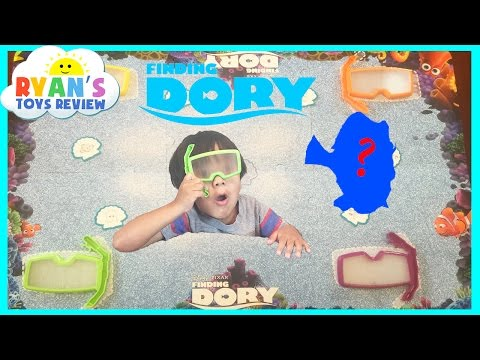 Thumbnail: Disney Pixar Finding Dory See Search Game Family Fun Hide and Seek Toy for Kids Egg Surprise Ryan To