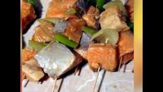 рецепт - шашлык из горбуши