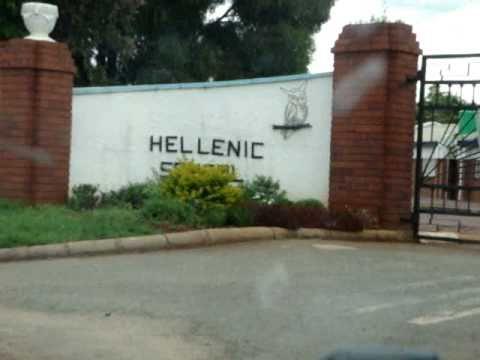 Zimbabwean Sings Greek National Anthem at Hellenic School