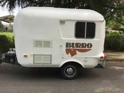 1981 Burro 13 Travel Trailer