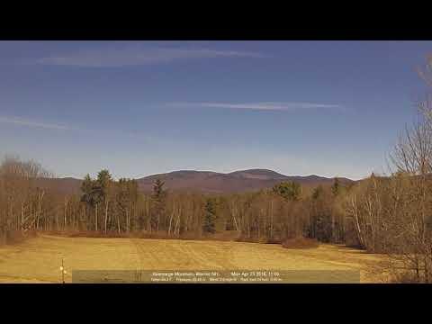 Kearsarge Meadows: Mountain Webcam1, 23 Apr 2018