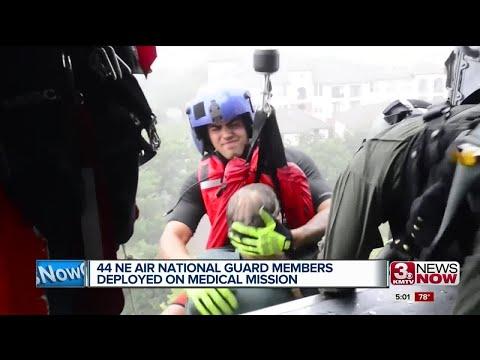 Helping Houston: Nebraska Air National Guard members deployed on medical mission