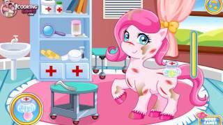 Игры для детей: игры для девочек. Игра стимулятор. Лечение пони