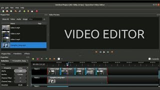 How to edit a video using a free open source video editor