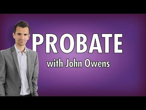 John Owens Probate