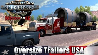 American Truck Simulator | Oversized Trailers USA - Jet Engines