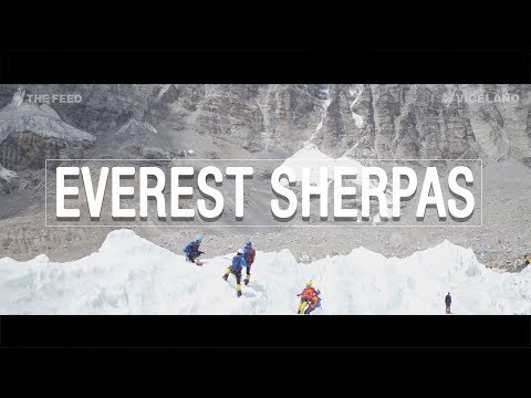 Everest Sherpas: 'They're not heroes. They're rockstars' - The Feed