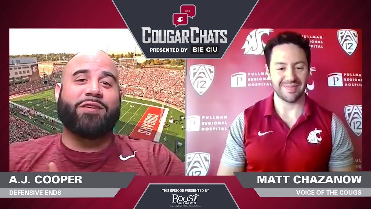 Image for WSU Athletics: Cougar Chats with Coach A.J. Cooper webinar