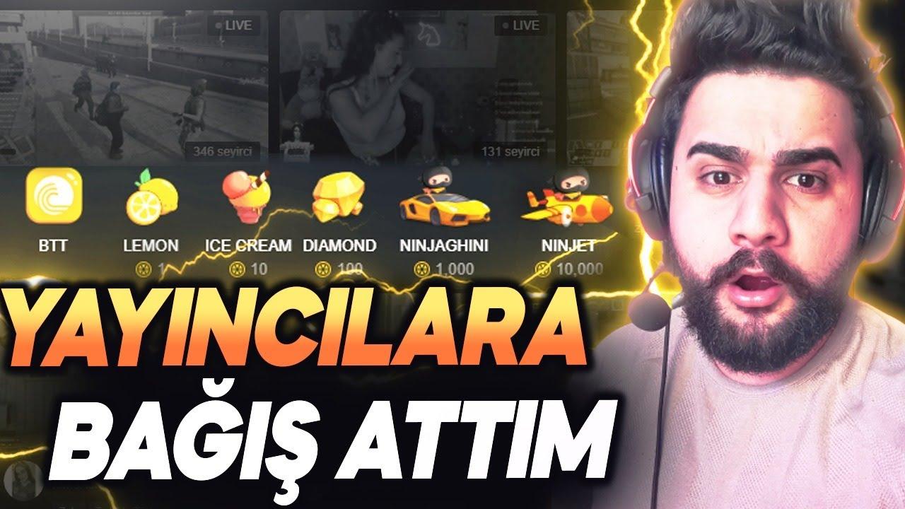 ZULA YAYINCILARINA  BAĞIŞ ATTIM !!