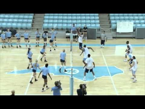 UNC Men's Basketball: 2012 Late Night with Roy - Volleyball