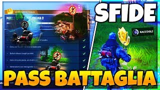 SECRET PLACES for FORTNITE PASS BATTLE 3 SFIDE! (Week 2)