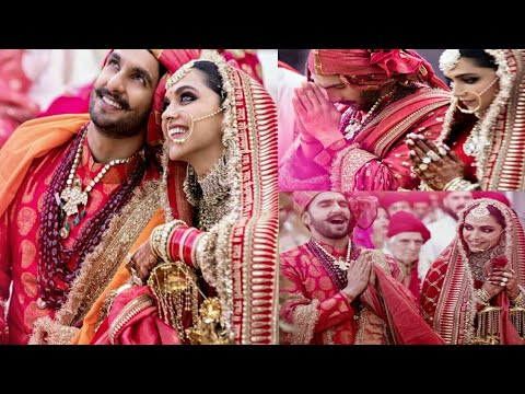 Ranveer Singh And Deepika Padukone Wedding Photo 💐 ll S S CREATION..