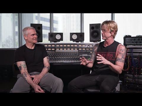 Hooker, DB and Becka - Henry Rollins and Duff McKagan Sit down and talk music