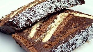 Bisküvili Pasta Tarifi | İki Renkli Pasta Yapımı