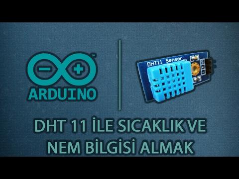 DHT11 Sıcaklık Ve Nem Sensörü - Arduino #13
