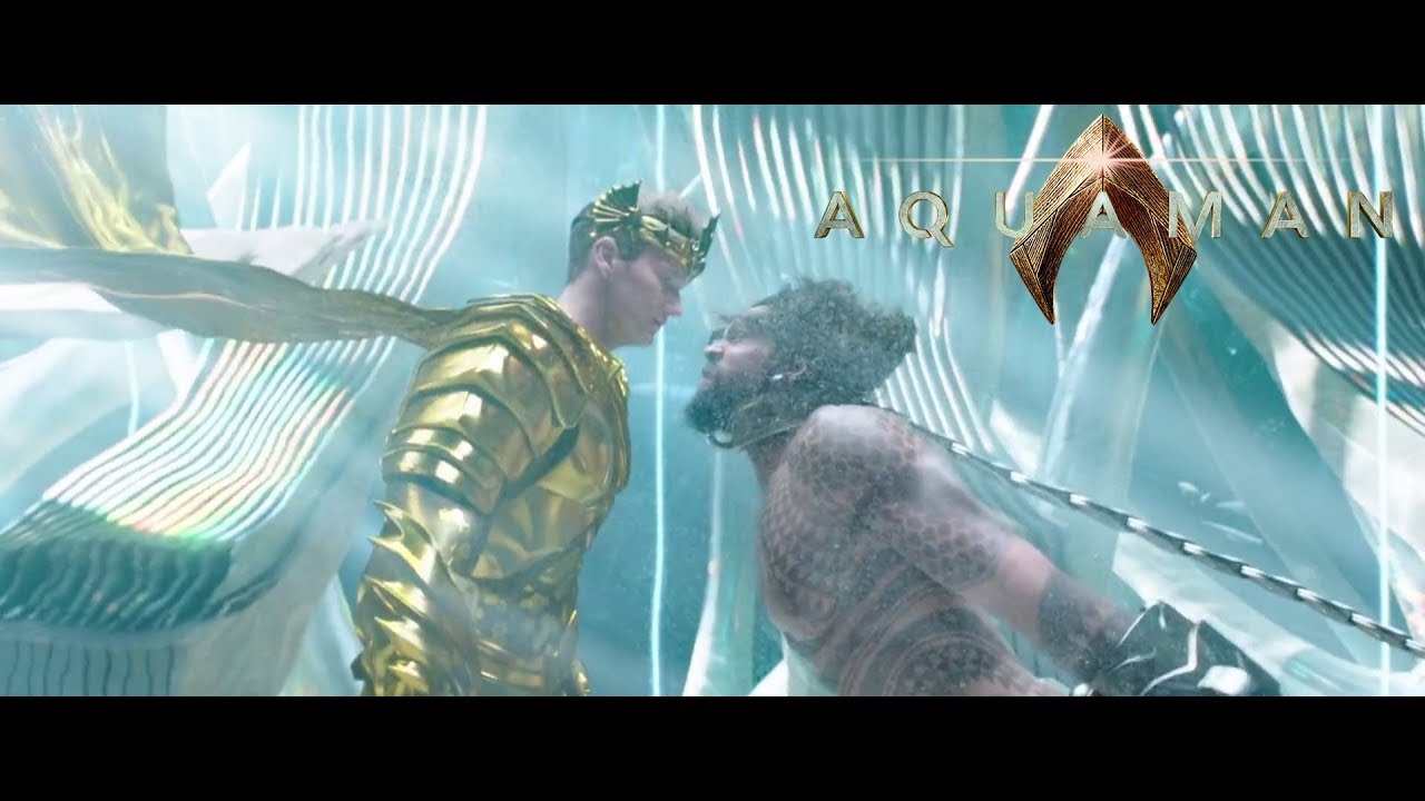 Arthur Curry meets King Orm   Aquaman