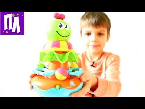 Музыкальная пирамидка Игрушки для малышей
