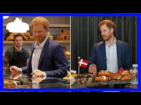 Breaking News | Fancy a danish, harry? prince visits a bakery in copenhagen