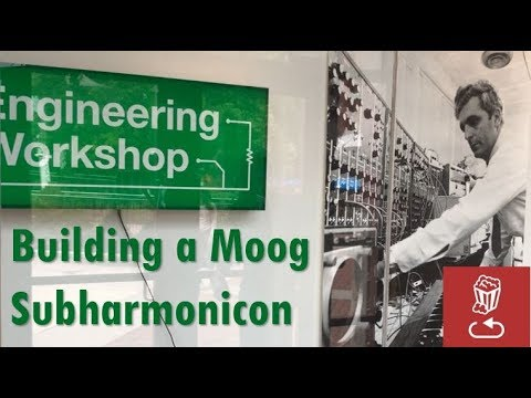Building a Subharmonicon: What it's like to attend a Moog Engineering Workshop