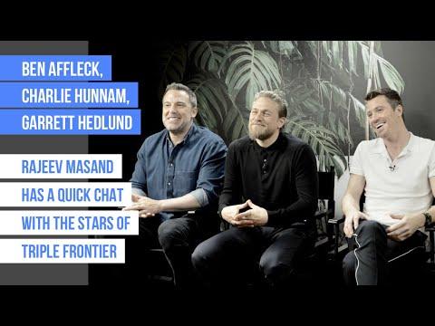 Rajeev Masand interview with Ben Affleck, Charlie Hunnam & Garrett Hedlund