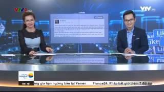 """Tin Tức VTV24 - Ngày 22/11/2016: Chuyện Facebook: """"Ông bà Anh"""""""