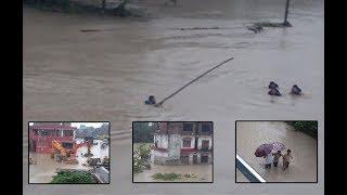 7 Dead in Flood | इटहरी - बूढीखोलामा बाढी, ७ जनाको मृत्यु, बस्ती पूरै जोखिममा