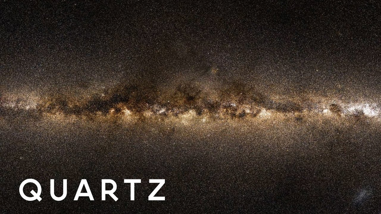 A New Star Map Of The Milky Way Galaxy Youtube