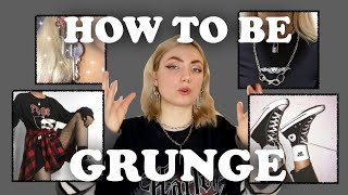 How to Be Grunge // Aesthetic Style #1