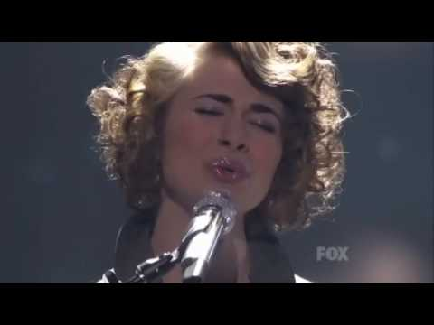 Siobhan Magnus - Across The Universe - Performance At American Idol 2010
