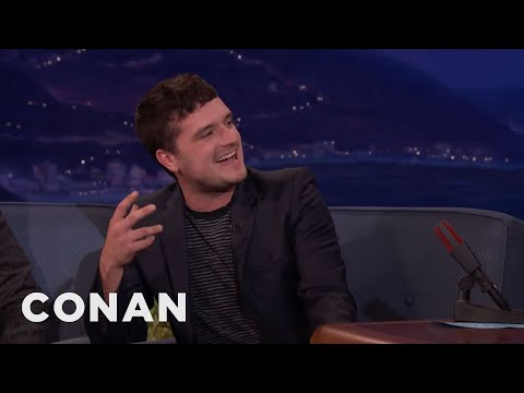 Josh Hutcherson Is Spending The Holidays With Woody Harrelson  - CONAN on TBS