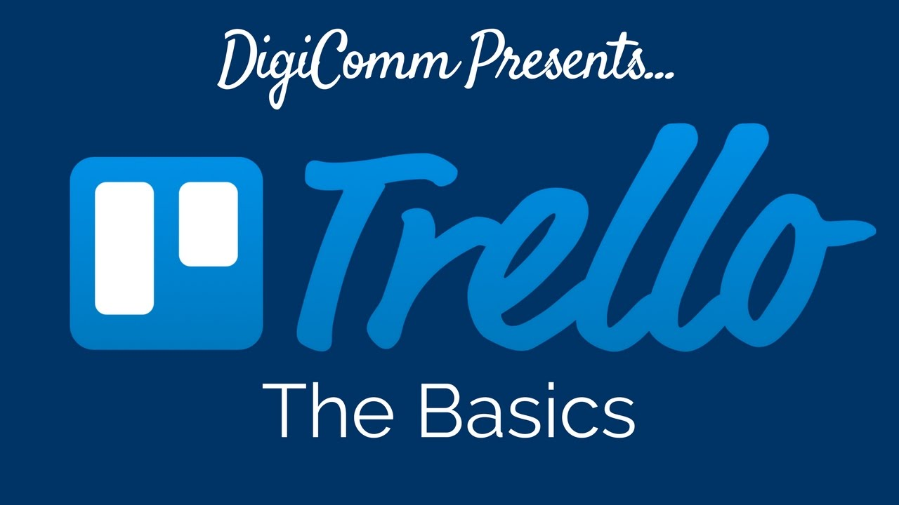 Trello The Basics Youtube