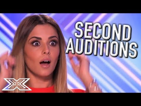 ACTS Return for SECOND Auditions on The X Factor UK! | X Factor Global