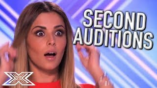 Download ACTS Return for SECOND Auditions on The X Factor UK! | X Factor Global Mp3 and Videos
