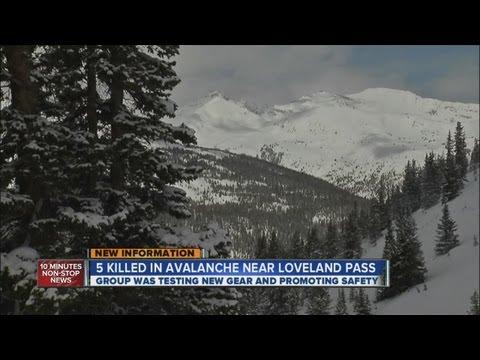5 killed in avalanche near Loveland Pass