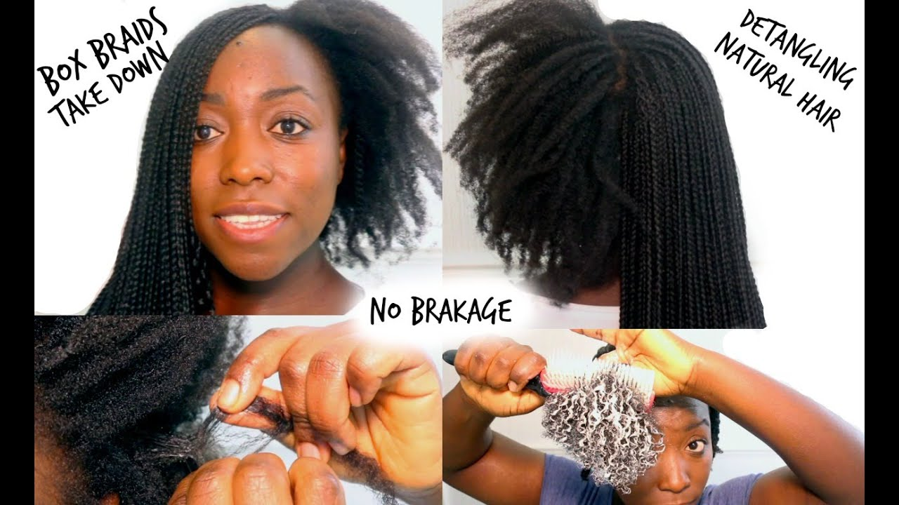 styling hair after washing box braids take and wash detangling hair how 8305